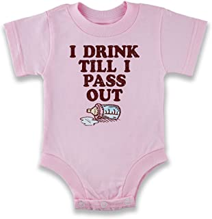 I Drink Till I Pass Out Baby Infant Bodysuit