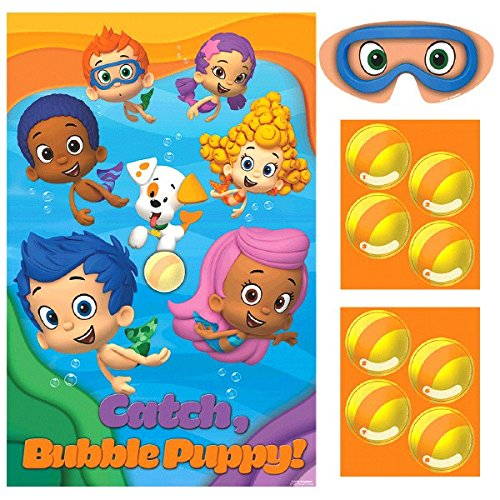 amscan 271425Bubble Guppies Party Spiele