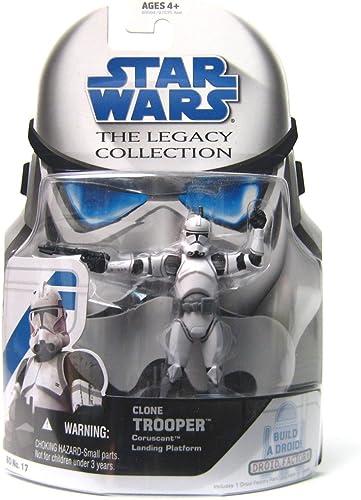 Star Wars Legacy Collection Clone Trooper Coruscant Landing Platform