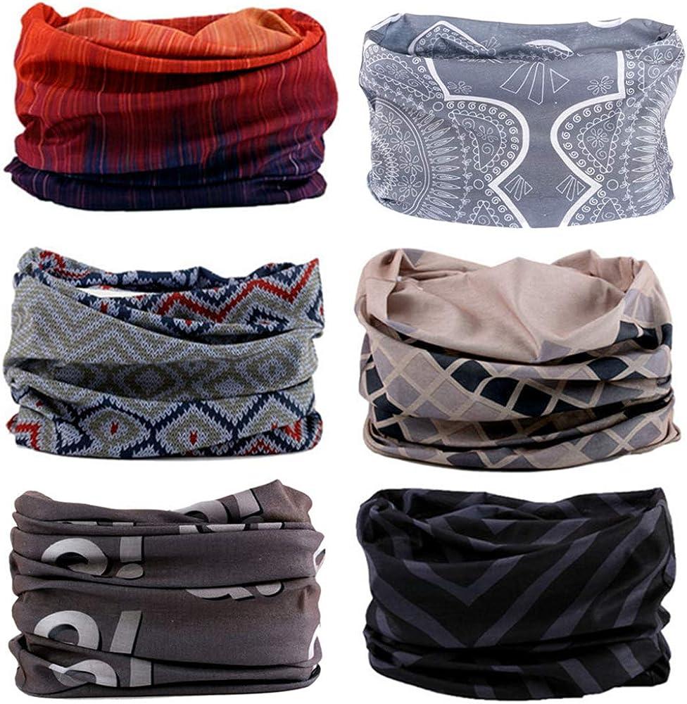 Zupro Headbands Bandana Neck Gaiter Face Mask Balaclava Head Wrap Headwear.