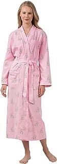 PajamaGram Women's Robes Soft Cotton - Bathrobes for Women