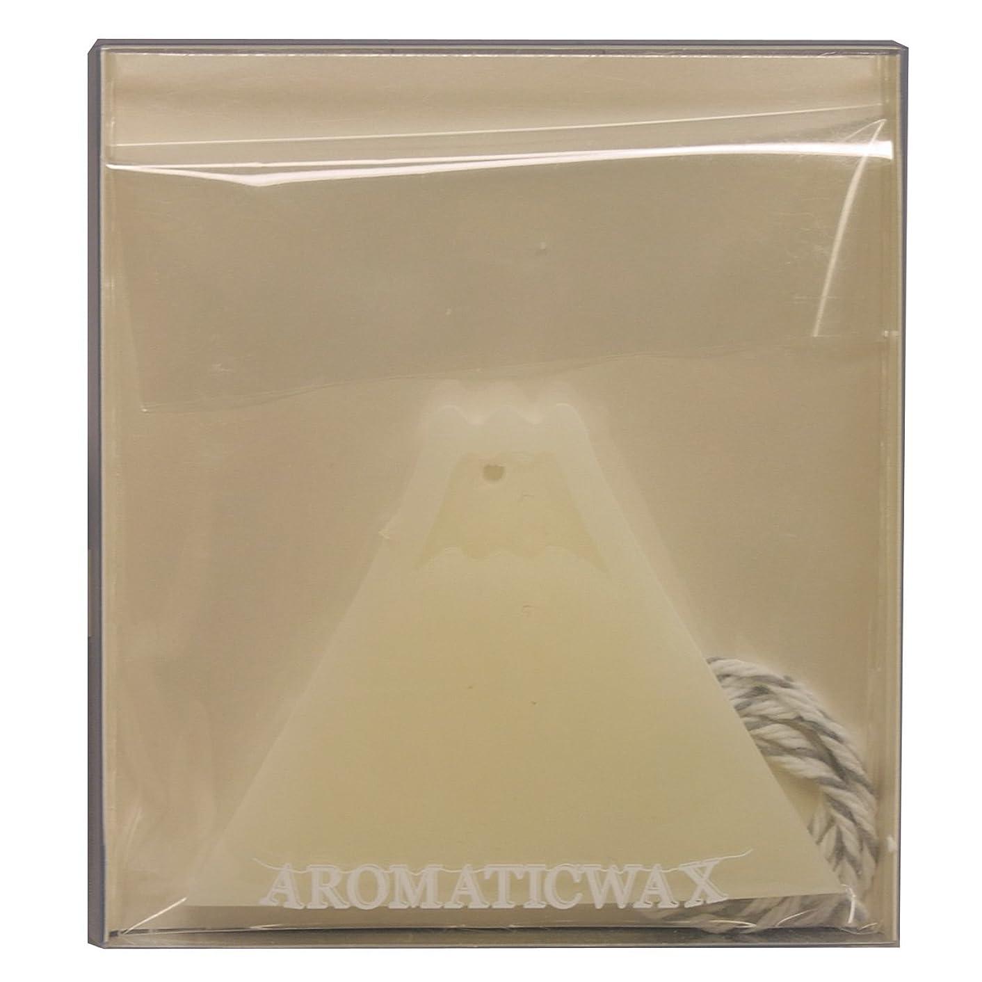 中断中性解くGRASSE TOKYO AROMATICWAXチャーム「富士山」(WH) スイートマジョラム アロマティックワックス グラーストウキョウ