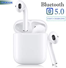 Bluetooth 5.0 Wireless Earbuds Headsets Bluetooth Headphones ?24Hrs Charging Case?3D Stereo IPX5 Waterproof Pop-ups Auto Pairing Fast Charging for Earphone Samsung Apple Airpods motion Earbuds