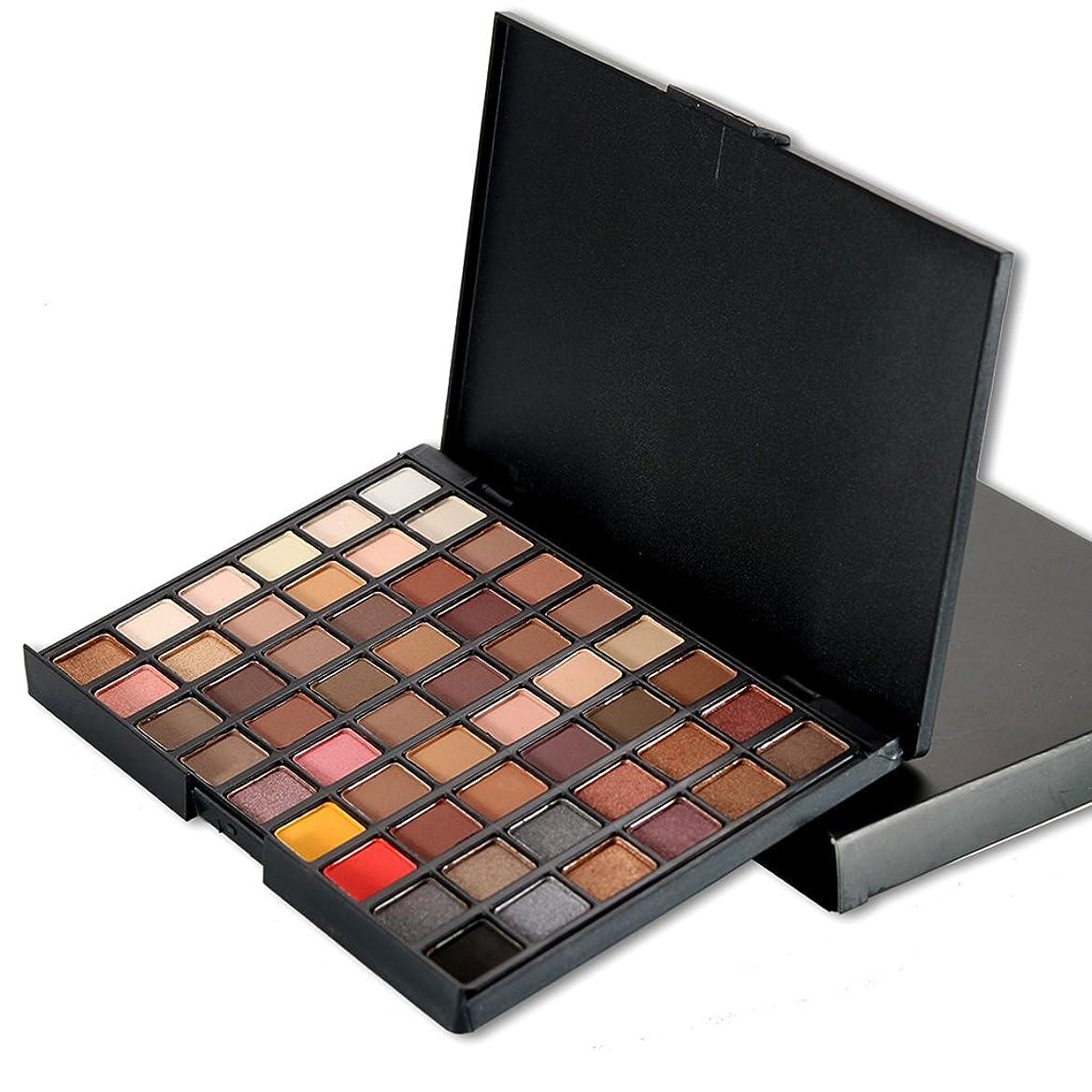 偏心表向き影響力のあるBaosity 54色 化粧品 パウダー アイシャドウ パレット 色合い マット シマー 全2種類 - #1