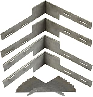 Coyote Landscape Products 636108 RawEdge Landscape Edging, 16 Gauge, Raw Steel
