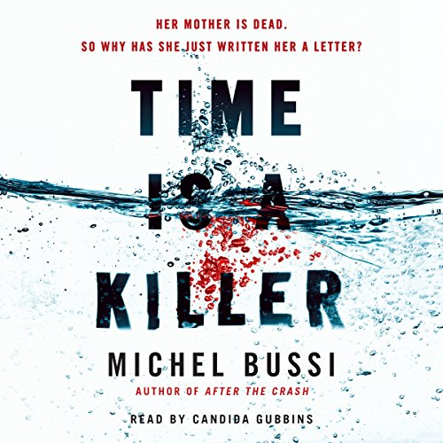 Time Is a Killer audiobook cover art