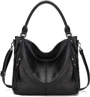KL928 tasche damen Handtasche gross Umhängetasche Schultertasche Damenhandtasche PU Leder elegante Tasche damen Henkeltasc...