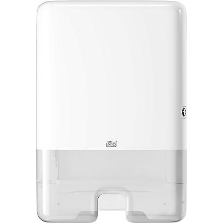 Tork Xpress Distributeur pour Essuie-mains interfoliés - 552000 - Elevation Design - Distributeur H2 pour papier d'essuyage, feuille à feuille, blanc