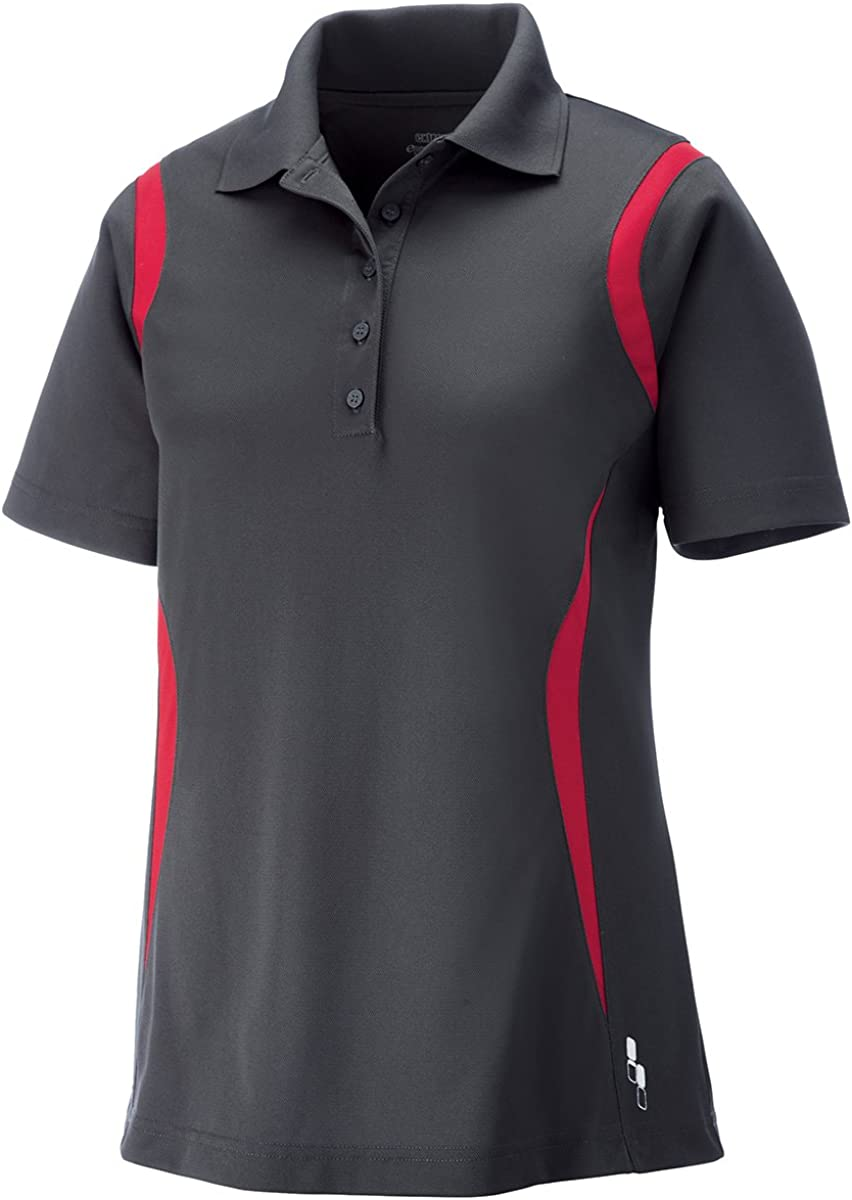 Extreme Eperformance Ladies Venture Snag Protection Polo, 2XL, Blksilk 866
