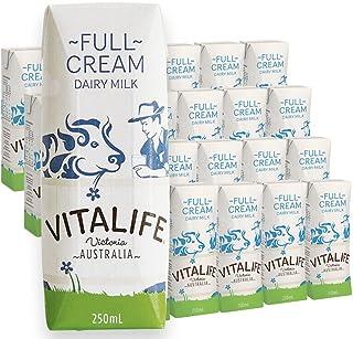 Vitalife 维纯 全脂纯牛奶 家庭早餐冲饮纯牛奶整箱装 250ml*24(澳大利亚进口)