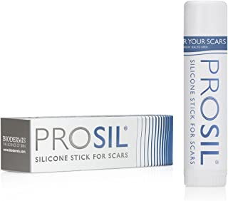 Pro-Sil Patented Silicone Scar Treatment Stick - Clinically Proven to Reduce the Appearance of Scars - Easy Glide-on Applicator, 17g