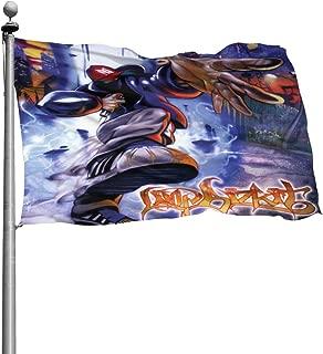 4GHdogQ Limp Bizkit LogoSeasonal Garden Flag Set for Outdoors 4x6 Ft