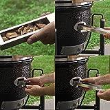 BBQ Guru Monolith Ceramic Grill with Digital DigiQ Temperature Control - Most Hi-Tech Charcoal Grill