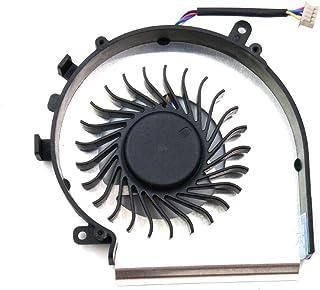 SWCCF - Ventilador de CPU de Repuesto para MSI MS-179B MS179B MS-16J9 MS-16JB GE72VR GP72MVR GP72VR 6RF 7RFX 7RD 7RE GE72 Apache Leopard Pro Inside Assembly P/N: PAAD06015SL N366