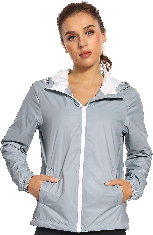 Brand Cheap Sale Venue Freetrack Luxury Women's Packable Waterproof Jacket Zipper Rain Lightwe