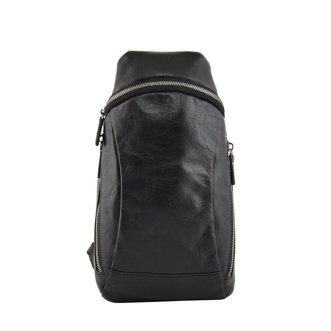 ジョブボウリング添付Dream Leather Bags Made in Italy Genuine Leather メンズ US サイズ: 1 カラー: ブラック