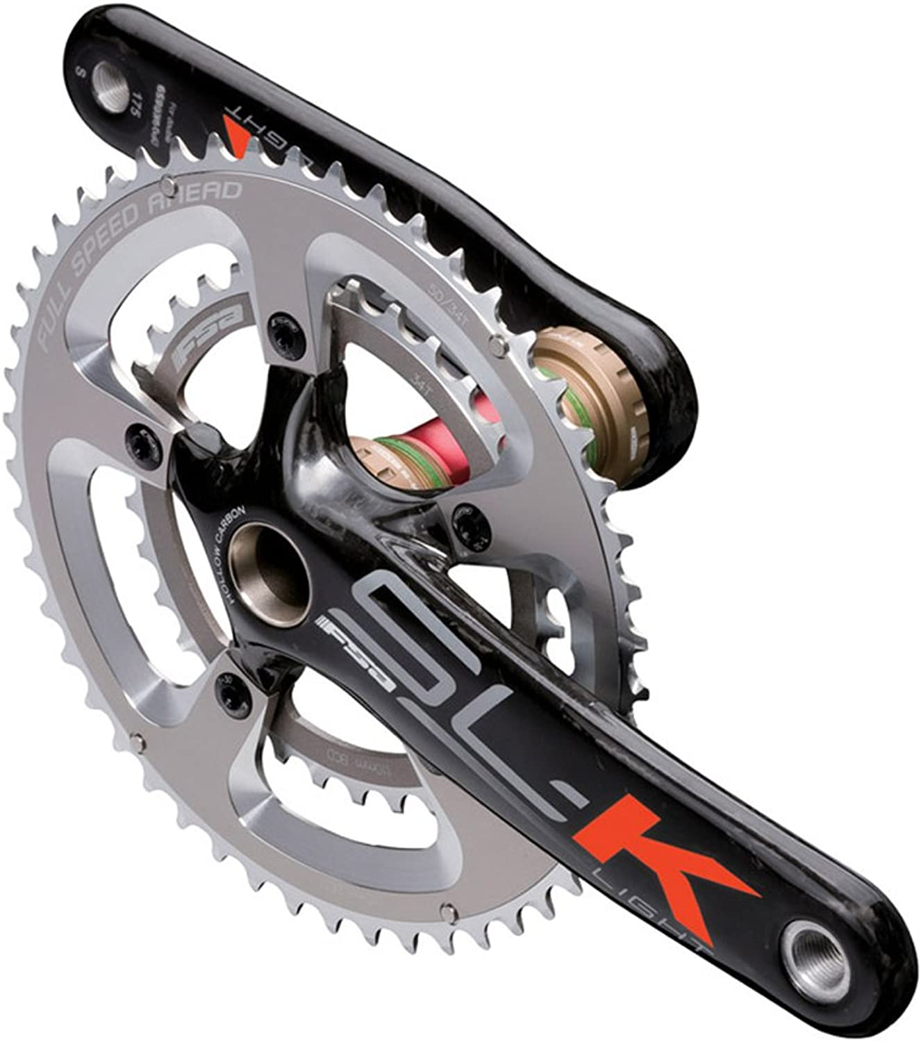 FSA 3303712NS SLK Light Compact Crankset