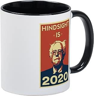 CafePress Bernie Sanders Hindsight Is 2020 Mugs Unique Coffee Mug, Coffee Cup