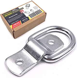 Erayco 10-Pack D Rings, 1/4