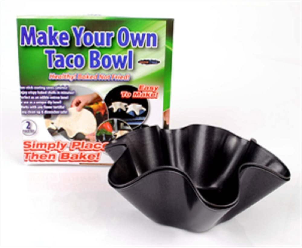 Gourmet Trends 1 X Make cheap Your Own 2 set piece Black Bowl Ranking integrated 1st place Taco