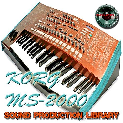 KORG MS2000 - Large Sound Library - Original Samples in WAVE/Kontakt on DVD or for download.