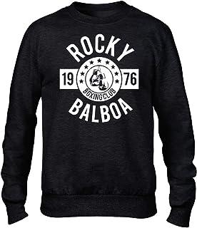 Rocky Balbao Boxing Club Premium Men's Black Crew Sweatshirt Rocky Film