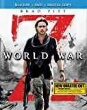 world war 2 blu ray - World War Z (Blu-ray + DVD + Digital HD)