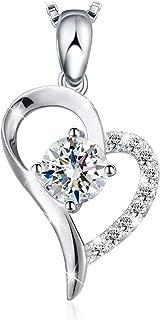 Swarovski Elements 925 Sterling Silver Pendant Necklace JRosee Jewelry JR320