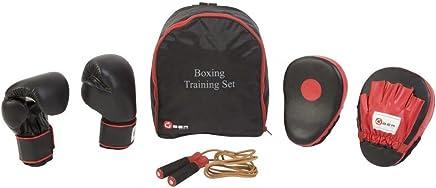 Übergames Box Trainings Set aus Leder, Komplett Set - Tasche, Handschuhe, Pads, Springseil B008OG4Y22     | Deutschland Frankfurt