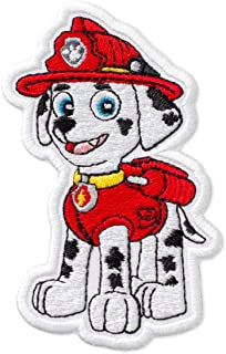 PAW Patrol Marshall Embroidered Patch Iron On (2.6