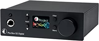 Pro-Ject Audiophile Home Audio/Video Product Black (Box - Pre Box S2 Dgt Black)