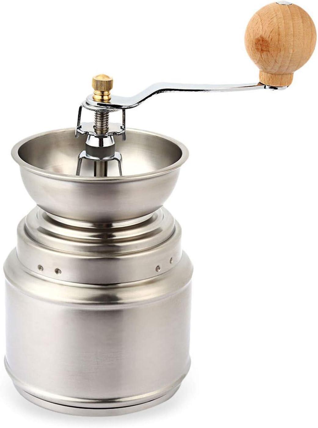 Manual Molinillos de café Máquinas de café - de acero inoxidable manual molinillo de café Herramienta de mano molino de especias Inicio Grinder fresadora Accesorios café conveniente simple y convenien