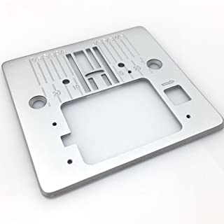 FQTANJU Needle Throat Plate Q60D Sewing Attachment Used for Singer 3321, 3323, 4423, 4432, 5511, 5523, 5532 etc.
