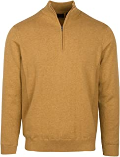 Men's Performance Blend Lined 1/4 Zip Sweater
