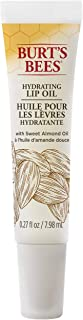 Burt's Bees Hydrating Lip Oil with Sweet Almond Oil – 0.27 Ounce - Pack of 4
