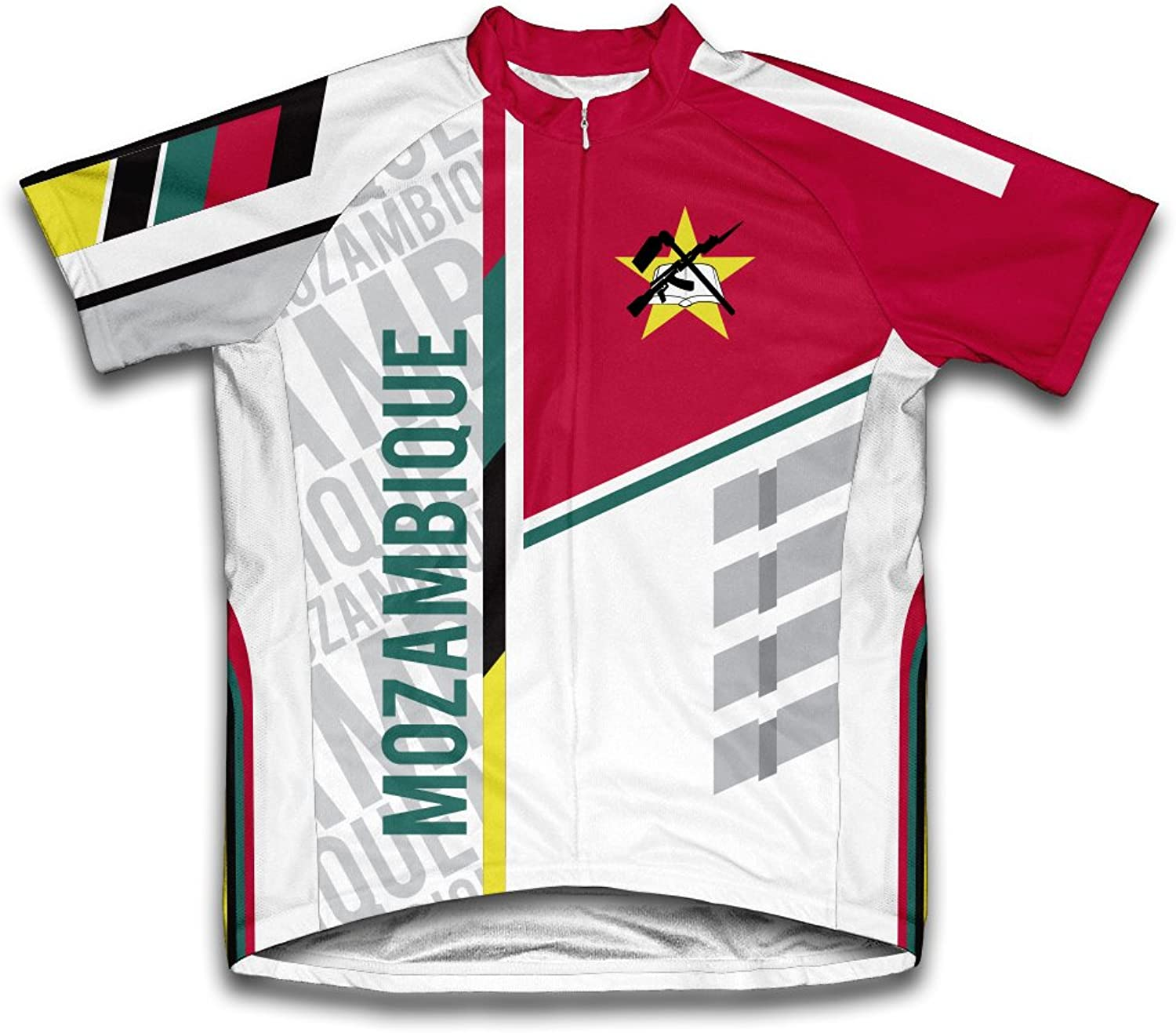 Mozambique ScudoPro Short Sleeve Cycling Jersey for Men