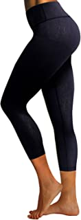 "BUBBLELIME 22 ""/ 26"" 2 أنماط أساسية / خارج جيوب عالية الخصر منقوشة نمط اليوغا المرأة تجريب اللباس الداخلي السيطرة على البطن"
