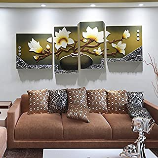 Paintsh  Modern Minimalist Decorative Living Room Painting Hand-Embossed Leather Painting Sofa Background Wall Paintings H...