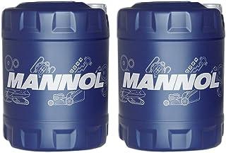 MANNOL 2 x 10L 80W 90 Hypoid Getriebeoel/GL  4 GL 5 LS Schaltgetriee  Achs  oel
