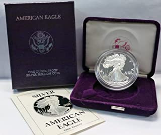 1989 S American 1 oz. Silver Eagle Dollar Proof US Mint