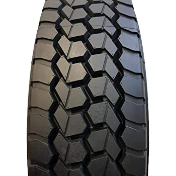 (6-TIRES) 225/70R19.5 14 PLY NEW ROAD CREW 2 STEER 600 and 4 DRIVE TIRES # 490 14 PLY 128/126N