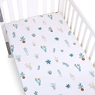 Premium Fitted Crib Sheet, Soft Cotton Toddler Sheet Fits Standard Mattress for Baby Girl Or Baby Boy by Preciousbaby