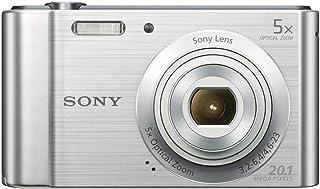 كاميرا سايبر شوت من سوني، 20.1 ميجابكسل، 2.7 انش، بلون فضي، طراز DSC-W800