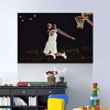 Basketball Canvas Art Painting The NBA Black Mamba and White kobe Bryant Slam Dunk Wall Pictures Gym Poster Modular Painti...