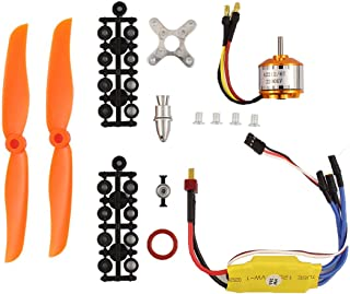 XtremeAmazing RC 2200KV Brushless Motor 2212-6 + 30A ESC + Free Mount for RC plane helicopter