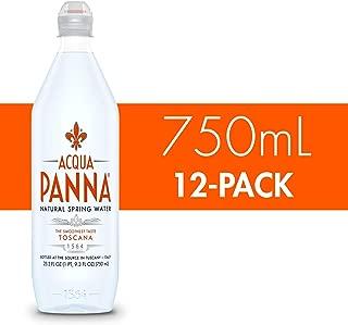 Acqua Panna Natural Spring Water, 25.3 Fl Oz. Plastic Bottles (12 Pack)