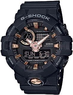Casio G-Shock Men's GA-710B-1A4 Black/Rose Gold