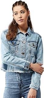 KOTTY Womens Regular Fit Denim Jacket