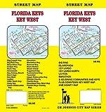 Florida Keys / Key West / Upper & Lower Keys, Florida Street Map
