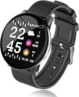 """$22 » Sponsored Ad - Smart Watch Fitness Tracker with All Day Heart Rate Monitor Sleep Quality Tracker IP68 Waterproof 1.3"""" Larg..."""